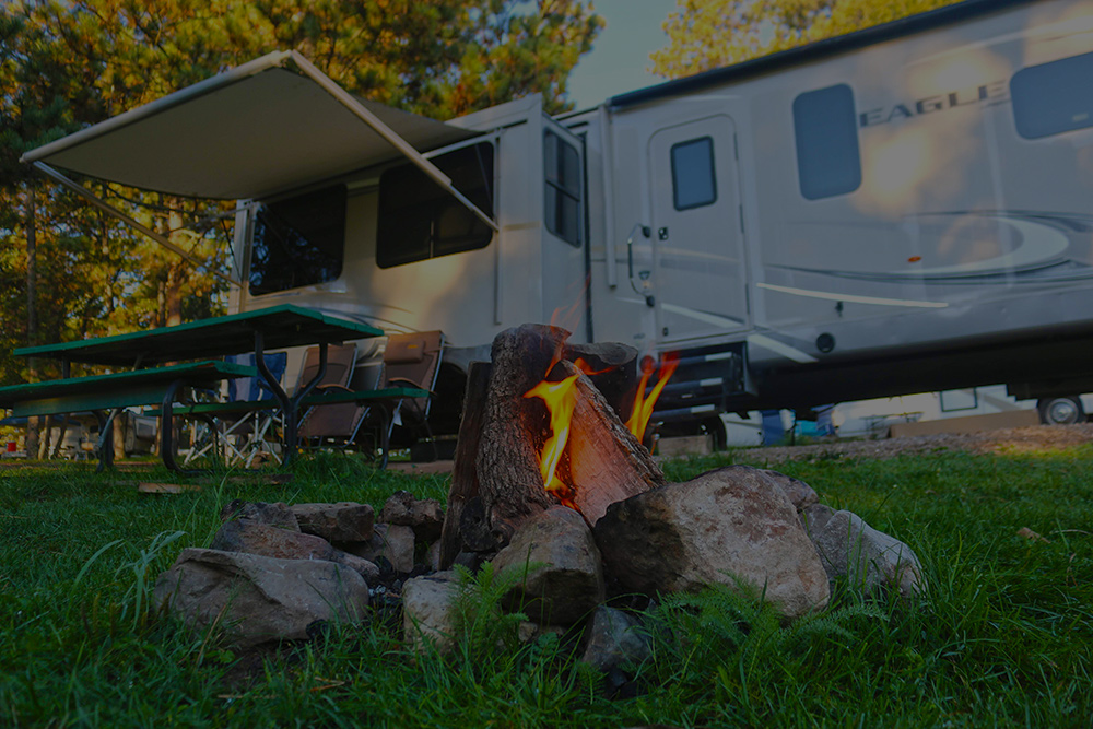 16 Springs RV Camping Park in Cloudcroft, NM